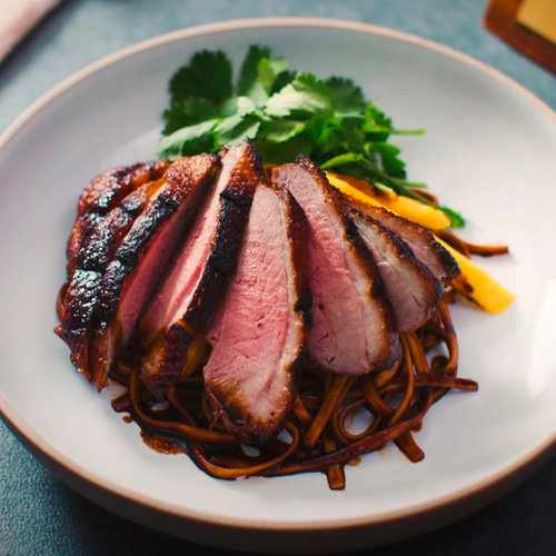 Aromatic Duck Fillet with Soba Noodles
