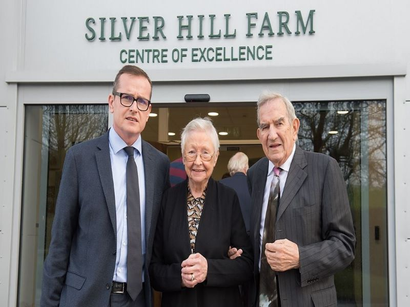 PASSING OF SILVER HILL'S CO-FOUNDER MRS LYLA STEELE image